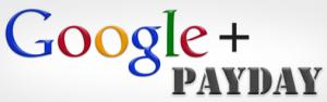 Google Plus Payday Logo